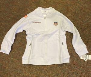 COTA 2015 US Grand Prix Women's Crest Full Zip Sweatshirt NEW XS 2236