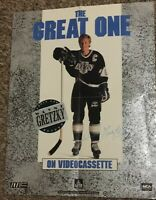"""RARE 1990 Wayne Gretzky 'Above and Beyond' Video Release Store Poster, 17""""x 22"""""""