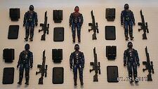Action Force/GI Joe Cobra Trooper and Officer Army Builder figures complete