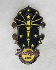 HARD ROCK CAFE INDIANAPOLIS HEADSTOCK FLAG SERIES PIN # 80363