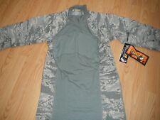 Massif Airman Battle Shirt USAF US Air Force Combat sz Medium Tiger Stripe Camo