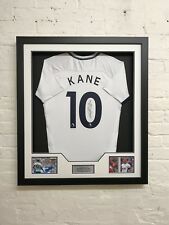 Harry Kane Signed & Framed Shirt SPURS Genuine Tottenham Hotspur AFTAL COA (A)