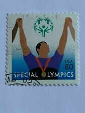 VINTAGE STAMP💎2003💎80 cent Special Olympics #3771 💎
