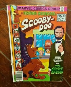 Hanna Barbera's Scooby Doo! #2, (1977, Marvel): The Ghostly Governor!