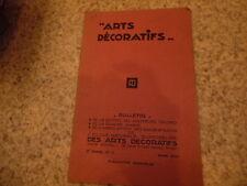 1930.Bulletin de l'école des arts décoratifs.architecture.Mars..