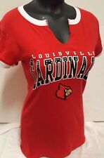 LOUISVILLE CARDINALS NCAA WOMANS  BLING JERSEY SHIRT NEW WITH TAGS