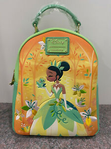 Loungefly Disney Princess and the Frog Tiana Mini Backpack - NWT