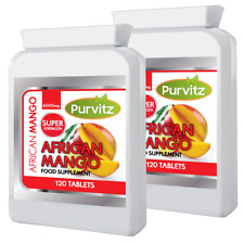 African Mango Ultra 6000mg HIGH STRENGTH Tablet 240 Tablets Made UK Strong Legal