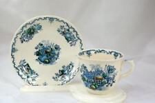 Masons Fruit Basket Blue Cup And Saucer Set #C4892