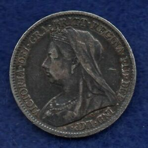 Great Britain, Victoria, 1900 Sixpence (Ref. c8181)