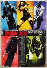 SMOKIN' ACES DS ROLLED ADV ORIG 1SH MOVIE POSTER RYAN REYNOLDS ALICIA KEYS(2007)