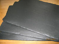 Handmade Welsh Natural Slate Placemats & Coasters-set of 2,4,6,8-16 Xmas Gift