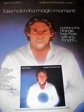 Gene Cotton 1981 Promo Poster Ad Eclipse Of Blue Moon