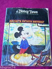 "Fine- Fall 1978 Magazine, Official Disney News', ""Mickey'S Fiftieth Birthday!"""