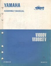 1995 YAMAHA SNOWMOBILE VX800V (see cover) ASSEMBLY MANUAL LIT-12668-01-60 (424)