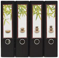 Design Ordner-Rückenschilder zum Einstecken breit - Motiv Feng Shui - IC-017