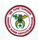 Midian Shrine Caravan Patch 3in Shriners Burns Institute Galveston Texas
