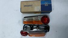 COPPIA FANALI POSTERIORI DX+SX LANCIA FULVIA BERLINA 2 C GT ALTISSIMO REAR LIGHT