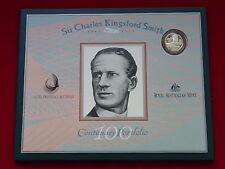 1997 NPA - Kingsford Smith Portfolio  Last Prefix $20 Note & Silver $1 Coin.