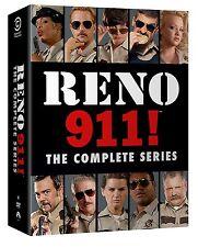 Reno 911 . The Complete Series Collection . Season 1 2 3 4 5 6 . 14 DVD . NEU