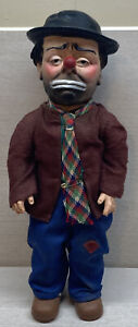"""Rare Emmett Kelly Doll by Baby Barry of Willie the Clown - 1950's 12.5"""""""