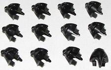 LEGO LOT OF 12 NEW BLACK MUMMY EGYPTIAN HEADGEAR HEADDRESS PIECES