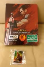 Thor Ragnarok HK 4K+2D Bluray Steelbook, New/Sealed,  with gift