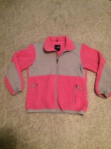 Girls Youth Large The North Face Pink Denali Jacket