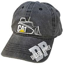 CAT Caterpillar Cap Hat NEW Charcoal Grey Adjustable