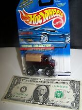 Hot Wheels - Red Mercedes Benz Unimog  - Virtual Collection - 2000