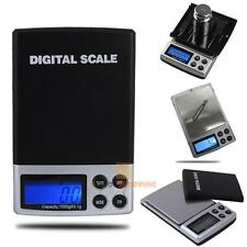 1000g/0.1g LCD Digital Weight Milligram Scale Jewelry Bead Balance Gram Scale