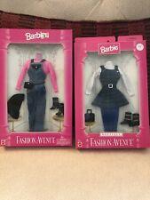 Barbie Fashion Avenue Outfits Lot Of 2, 1995/97 NRFB