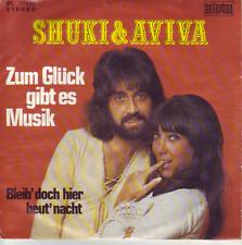 """7"" - SHUKI & AVIVA - Zum Glück gibt es Musik"