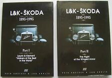 L & K Skoda 1895-1995 in 2 Volumes Laurin & Klement & Flight of the Winged Arrow