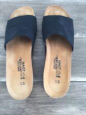 Naot Women's Sandal EU 42 US 11 Black Single Strap New Without Box