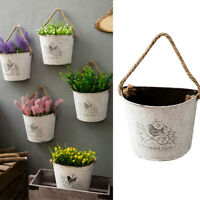 Wall Hanging Plant Pot Wall Decor Wall-mounted Container Succulent Planter Box