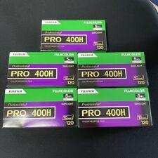 2 Rolls X Fujifilm Fuji Fujicolor Pro 400h 400 ISO 120 Color Negative Film