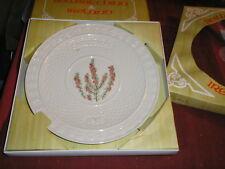 Belleek China Ireland 1985 Christmas Plate w/ Box