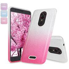 For T-Mobile REVVL Plus Glitter Bling Sparkle Hybrid TPU Gradient Phone Case