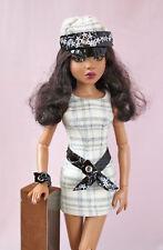 "Tonner Ellowyne Wilde outfit ""Daring girl"" handmade dress 16"" fashion doll gown"