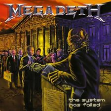 Megadeth-The System Has Failed Vinyl LP Cover Sticker or Magnet