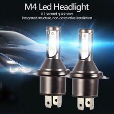 2X 55W H4 Car LED Headlight 26000LM Conversion Lights Kit 6000K Bulbs Hi/Lo Beam