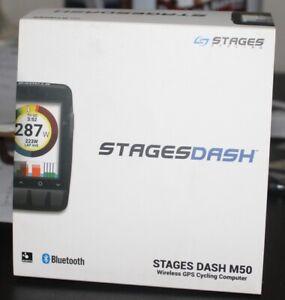 Stages Dash M50 cycling computer ANT+ Bluetooth NEW IN BOX