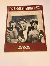 The Biggest Show of '52 FALL EDITION-Nat King Cole, Sarah Vaughn Jazz Program