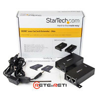 STARTECH ST121SHD30 Extender HDMI via Cat5/Cat6 con IR - 30,4 m Power-Over-Cable