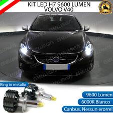 KIT LED H7 CANBUS VOLVO V40 CON LED 9600 LUMEN 6000K ANABBAGLIANTI