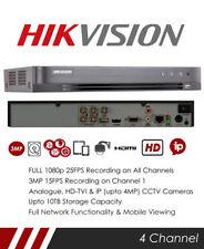 Hikvision DS-7204HQHI-K1 4 Channel Turbo HD 4.0, DVR & NVR Tribrid CCTV Recorder
