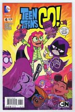 Teen Titans Go #6 NM- 1st Print 2014 DC Comics 2018 Movie Never Shelved for Sale