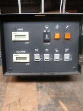 3302 Ryobi Machine Count And Service Panel