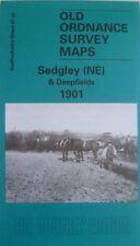 Old Ordnance Survey Detailed Map Sedgley (NE) & Deepfields  Staffordshire 1901